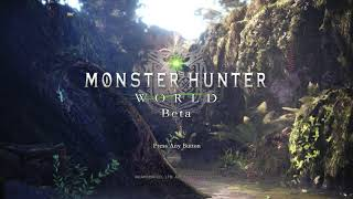 Monster Hunter World - Main Theme / Title Screen