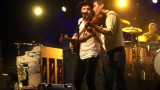 "Avett Brothers ""Rolling In My Sweet Babies Arms"" Whitewater Amphitheater, New Braunfels, TX 06.26.15"