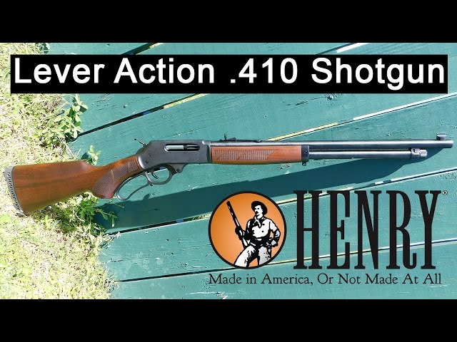 Guns.com Reviews the .410 Lever Action Shotgun