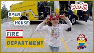 Fire Dept Open House. Im A Firefighter.