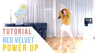 Red Velvet (레드벨벳)   Power Up Tutorial (Mirrored) | Ellen And Brian