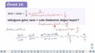 Eğitim Vadisi AYT Geometri 5.Föy Trigonometri Konu Anlatım Videoları