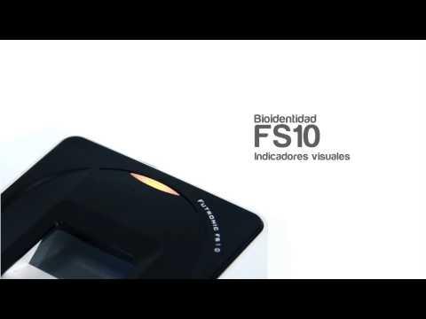 Bioidentidad RENIEC FS10. Lector biométrico monodactilar 25.4mm x 25.4mm, brevete MTC, EsSalud 512