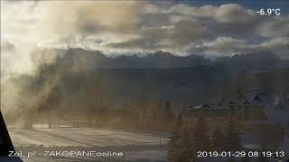 Zakopane , Dzień w Tatrach 2019-01-29