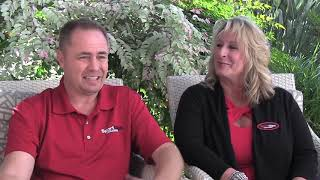 Jeff & Robyn Burroughs Have Fun Building The Sport Clips Brand