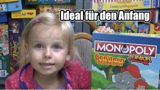 Monopoly Junior Benjamin Blümchen (Winning Moves) - ab 5 Jahre - Für Einsteiger!