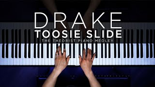 Drake - Toosie Slide | The Theorist Piano Cover