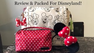 9576cbcdea1 Petunia Pickle Bottom Boxy Backpack Sketchbook Mickey   Minnie Review    Packing!