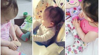 BABY VLOG:Обновки одежды/Стульчик для кормления/ПОДАРКИ ОТ КРЕСТНЫХ