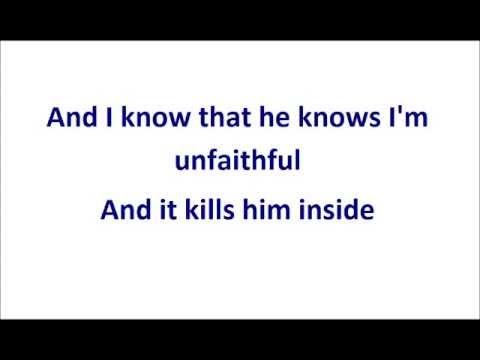 Rihanna - Unfaithful Instrumental With Lyrics