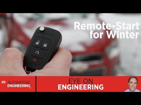 SAE Eye on Engineering: Remote-start for winter