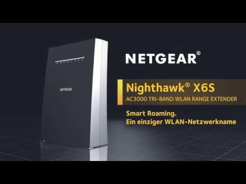 Netgear Prolongateur de maille Nighthawk X6S (1733Mbit/s, 400Mbit/s)