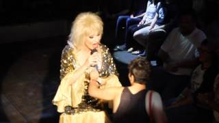 "Vancie Vega is Dolly Parton: ""Lay Your Hands On Me/ 9 To 5"" @ University Club"