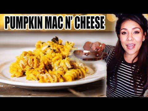 PUMPKIN MAC N' CHEESE! 🎃  | Tasty Tuesday