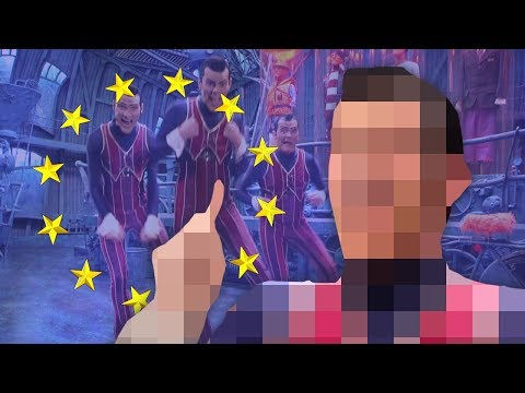 We Are Number One but it's compliant with EU Article 13 but it's a Behind The Scenes video