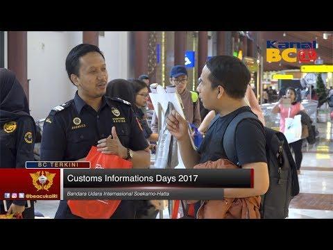 Customs Information Days 2017