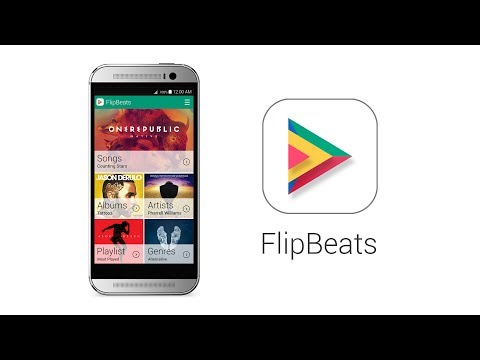 FlipBeats Is A Good-Looking, Gesture-Powered Music Player For Android