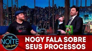 Exclusivo para web: Nogy fala sobre seus processos | The Noite (07/12/18)