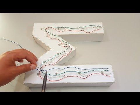 DIY LED Acrylic Dimensional Letters