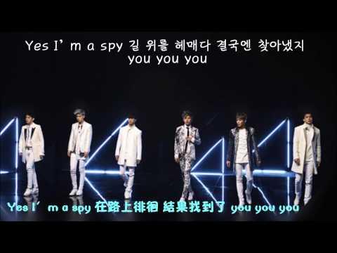 【中韩字幕】B.A.P-Spy