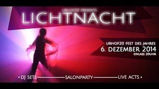 preview picture of video 'Vorankünder LICHTNACHT Urhof20 Fest des Jahres in Grünbach am Schneeberg'