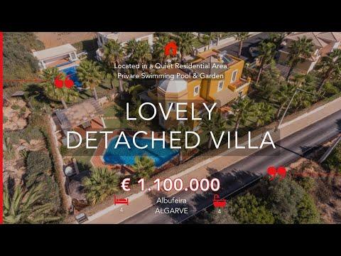 Albufeira - Villa de 4 chambres située dans un quartier calme près de la plage et de l'Algarve Shopp