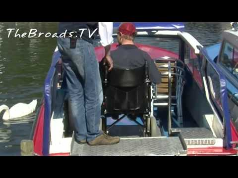 Wheelchair Friendly Day Boats
