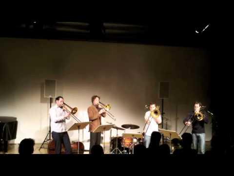 Vertigo Trombone Quartet - Durchaus/Listen to your woman online metal music video by VERTIGO TROMBONE QUARTET