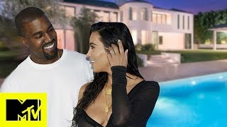 Kim Kardashian Gives A Tour Of Her & Kanye Wests Unique House | MTV Celeb