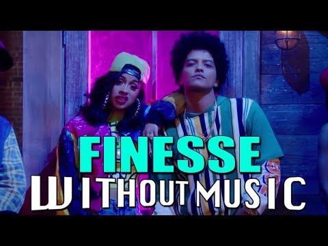 FINESSE - Bruno Mars ft. Cardi B (#WITHOUTMUSIC parody)