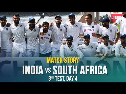 IND v SA, 3rd Test, Match Story: India clean-sweep South Africa 3-0