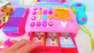 Kinder Joy Surprise Eggs Minnie Mouse Electronic Cash Register - itsplaytime612