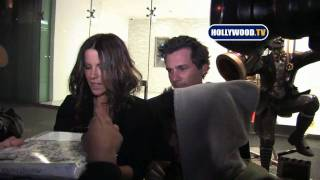 Кейт Бекинсэйл, Kate Beckinsale Leaves Soho House