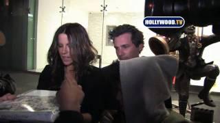 Кейт Бекинсэйл, Kate Beckinsale Leaves Soho House