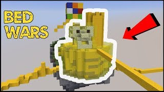 Building an INVINCIBLE FORT in BED WARS