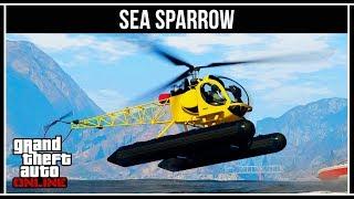 GTA Online: Sea Sparrow - конкурент Buzzard