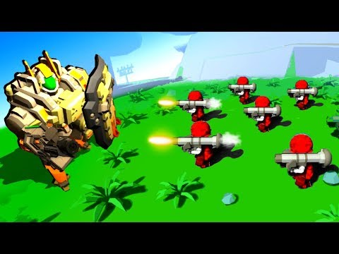 Epic New Mechs Fight Massive Armies in This Tiny Metal Update!