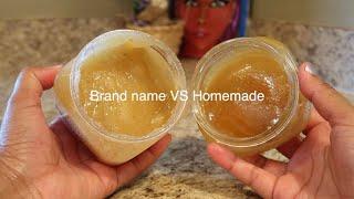 DIY Shea Sugar Scrub | Almond & Honey 🍯