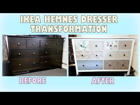 DIY Makeover - Transforming Ikea Hemnes Dresser | Upcycling Furniture