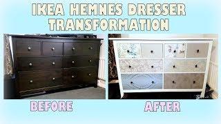 DIY Makeover - Transforming Ikea Hemnes Dresser | Upcycling Furniture