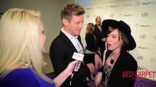 Barrett Foa & Renee Felice Smith at #PALEYFEST Fall Preview for NCIS: Los Angeles Premiere #NCISLA