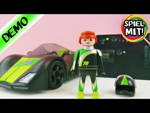 Playmobil FERNGESTEURTES AUTO! FÜR HEFTIGE RENNEN! 9089 RC-Supersport Car Deutsch - Spiel mit mir