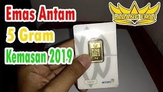 Review Emas Antam 5 Gram Kemasan 2019 | PT. Antam Indonesia | Logam Mulia | Pondok Emas | Investasi