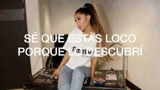 Break Your Heart Right Back- Ariana Grande // lyrics (español)