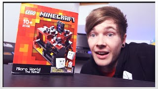 MINECRAFT LEGO : NETHER SET (Unboxing & Building)