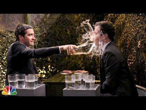 Gyllenhaal og Fallon i «episk» vannkrig