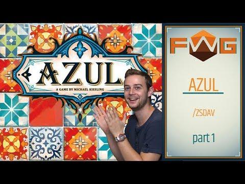 Azul | Part 1| Nem véletlenül az év játéka (Zsdav, Kaci) - Fun With Geeks