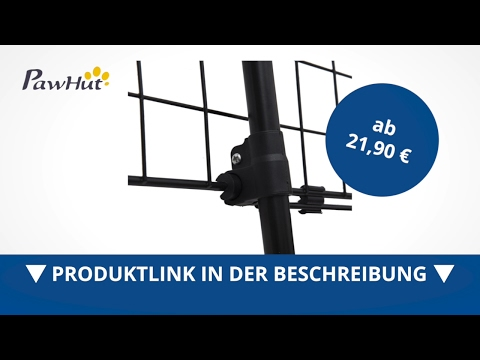 PawHut Hundeschutzgitter Auto Hundegitter verstellbar (Drei Doppel-Teleskoprohre) - direkt kaufen!