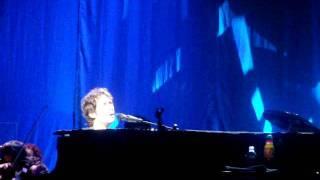 Josh Groban Bells of New York City - Forgets Words Live