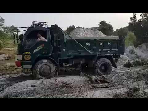 Sức mạnh của xe tải ben Chiến Thắng